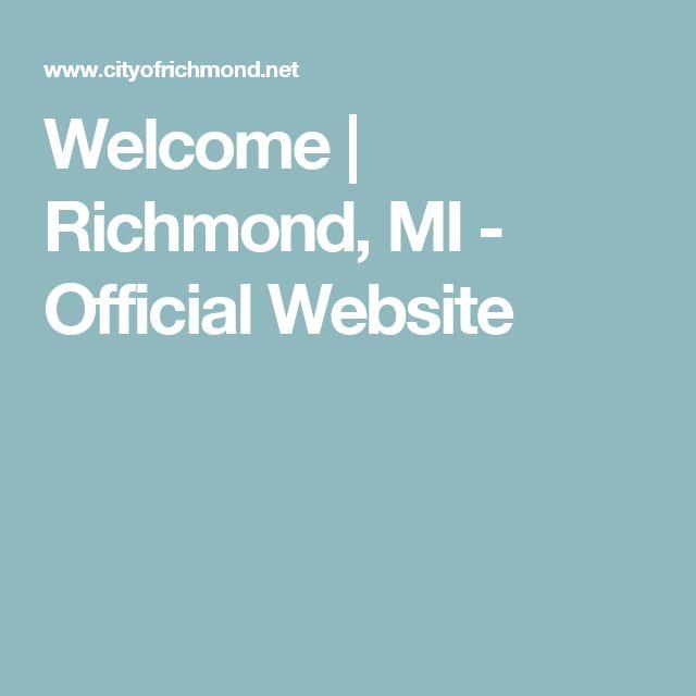 Welcome   Richmond, MI - Official Website