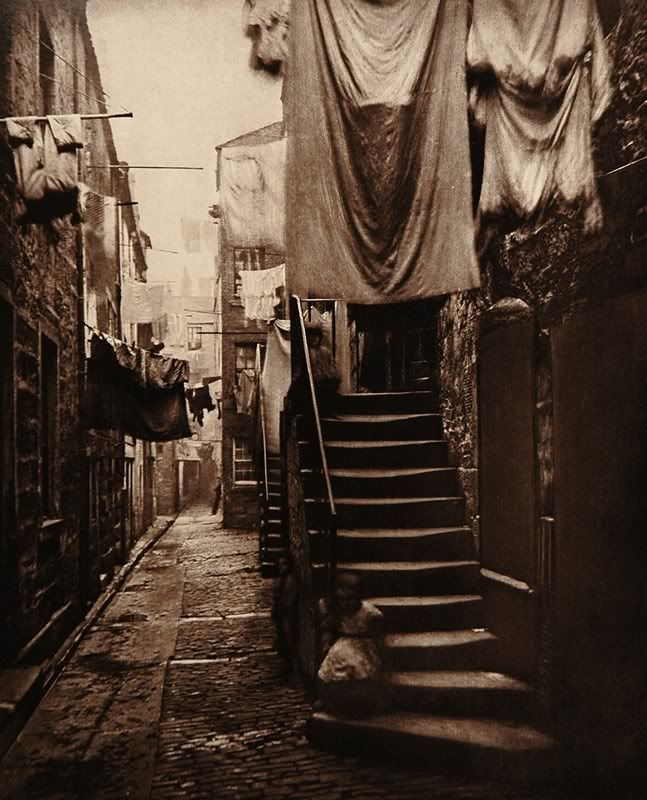 Old London, circa 1870, photographer unknown