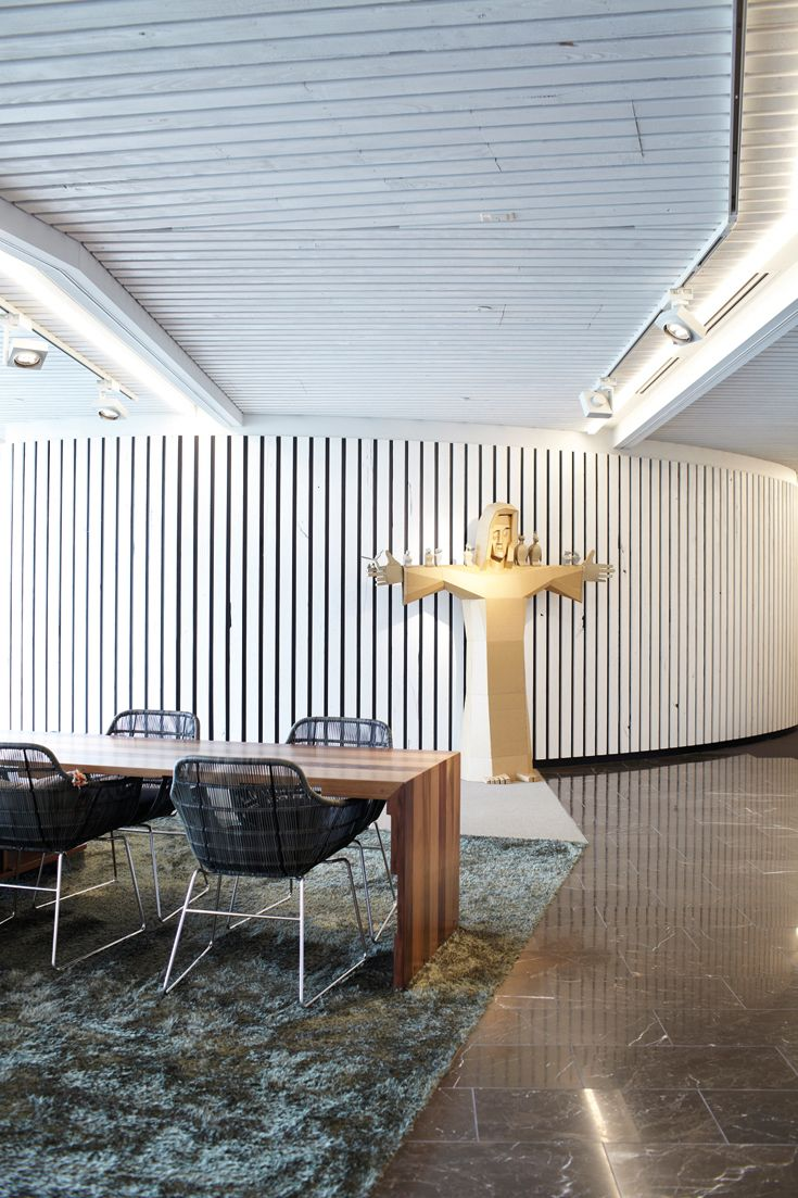 Zintra Acoustic Panels Project: Gadens Lawyers Workplace. Designer: Hassell  Photography: Alicia Taylo
