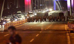 Turkey coup attempt: Erdoğan calls military uprising 'treason' – live updates