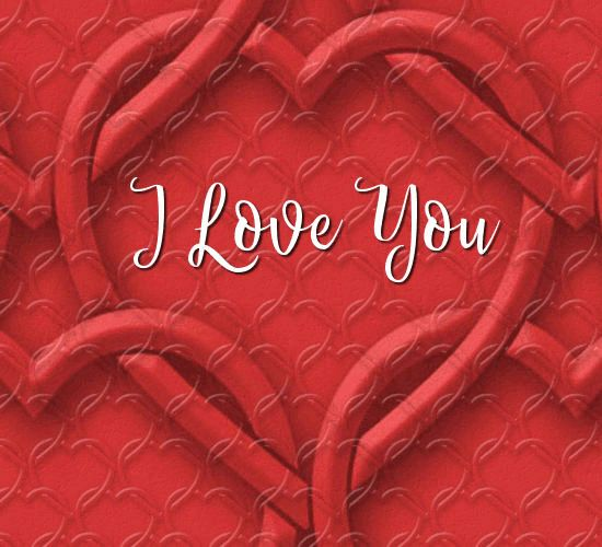 Say I Love You with this modern animated free ecard. #123Greetings #DragonfireGraphics #FreeEcard #ILoveYou