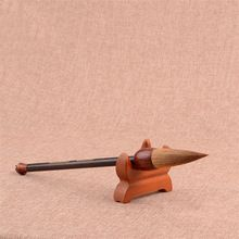 Dostaw sztuki Kaligrafii Szczotki Pen Średni Pisać Regularne Skrypt Łasica Włosów Szczotka Szkoła Papiernicze 1 Sztuka(China (Mainland))