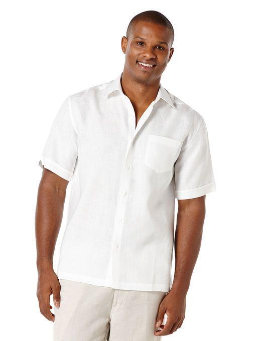 8f59dd4e92 Big   Tall 100% Linen 1 Pocket Shirt in 2019