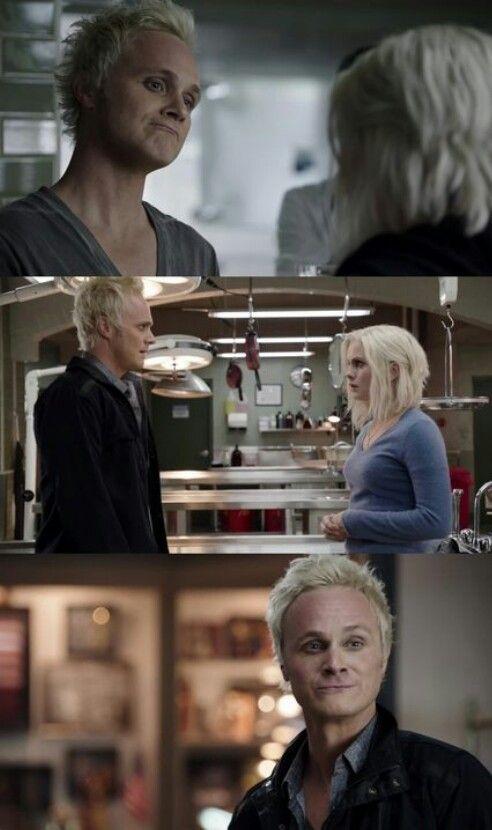 "#iZombie 1x11 ""Astroburger"" - Blaine and Liv"