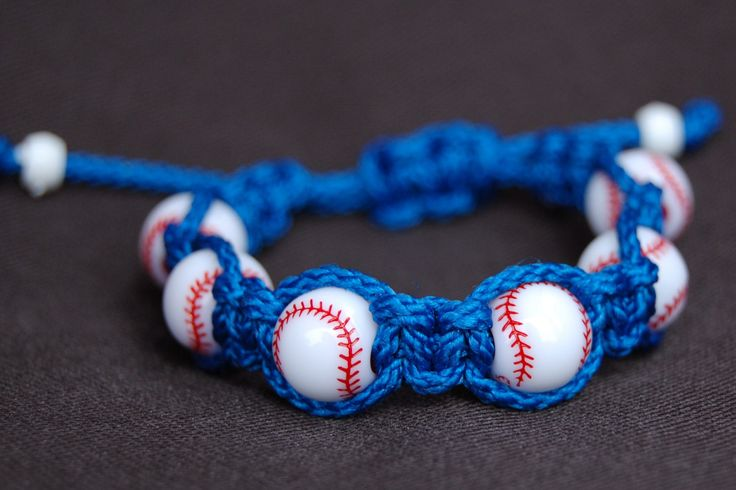 Baseball Bracelet /  Baseball Jewelry / Baseball by DiamondDivas33, $7.95