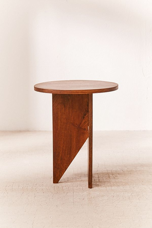 Hyland Wooden Side Table | Urban Outfitters