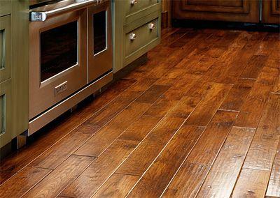 rustic style flooring hardwood floor decor kitchen floor - Flooring And Decor