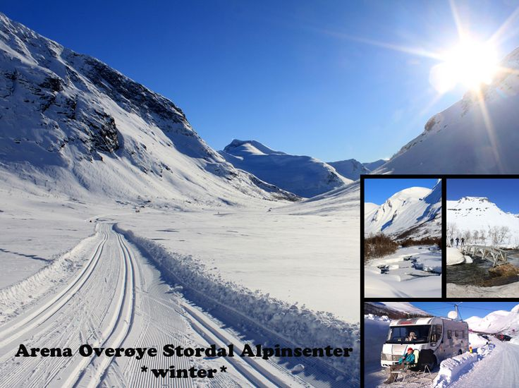 Overøya, Stordal, winter