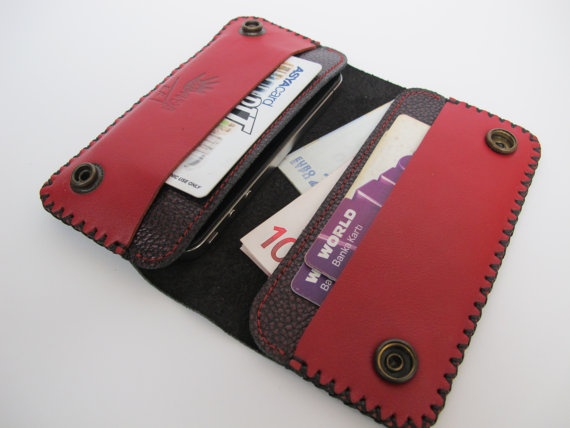 iphone 4 leather wallet