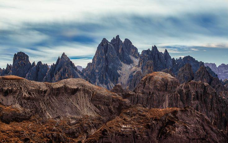 #Tre Cime di Lavaredo, Italy  #Canon - Canon EOS 6D, 1/4000s, f/2.8, 50mm, ISO 100