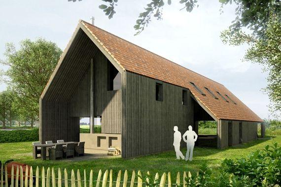 429 best images about huis exterieur puntdak on pinterest ramen wooden houses and cabin - Huis exterieur picture ...
