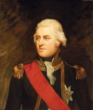 John Borlase Warren, né le 2 septembre 1753 à Stapleford dans le Nottinghamshire et décédé le 27 février 1822 à Londres, 1er baronnet, est un officier de marine britannique. Il termine sa carrière dans la Royal Navy avec la grade d'admiral.