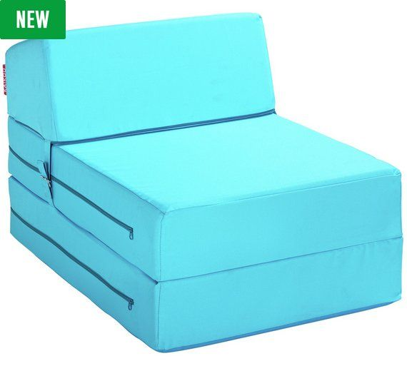£50 Buy ColourMatch Single Chairbed - Crystal Blue at Argos.co.uk, visit Argos.co.uk to shop online for Sofa beds, chairbeds and futons, Living room furniture, Home and garden