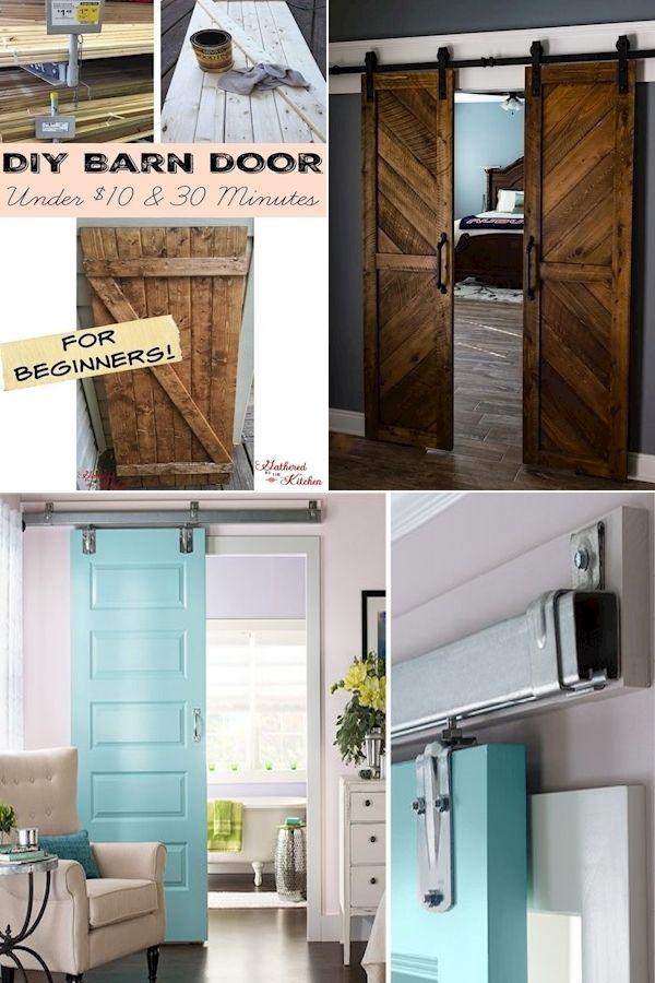 8 Foot Tall Sliding Closet Doors Solid Wood Internal Doors Sliding Glass Cupboard Doors In 2020 Diy Barn Door Home Home Decor