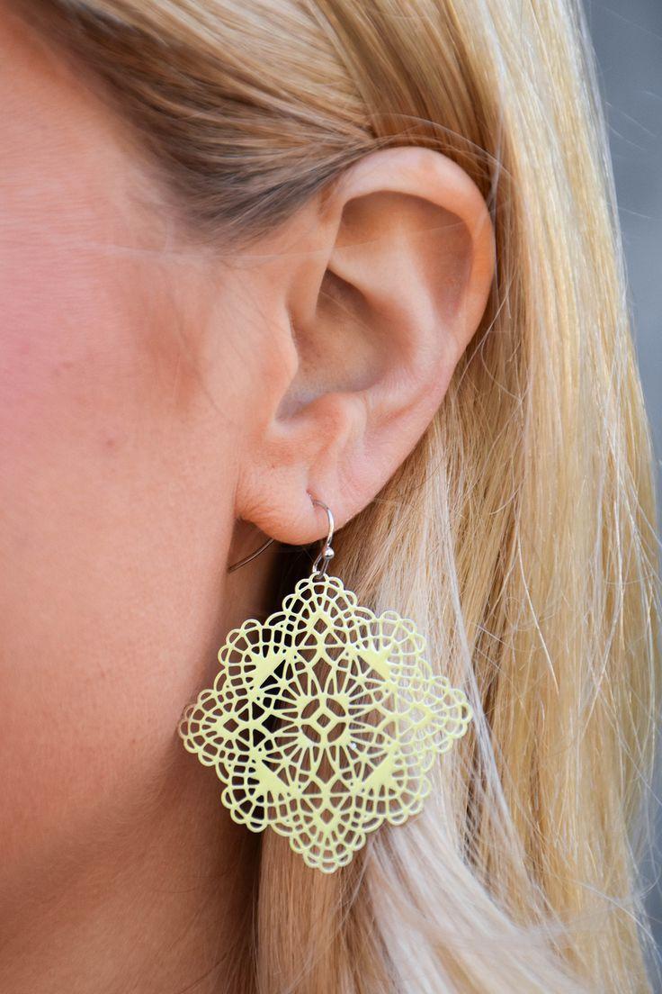Gold Moroccan Earrings