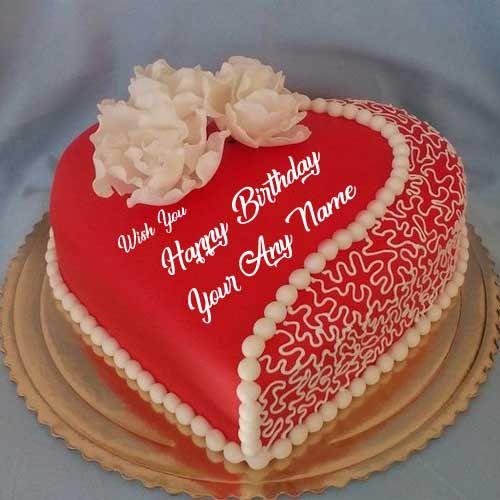 Beautiful Happy Birthday Cake Name Images Romantic