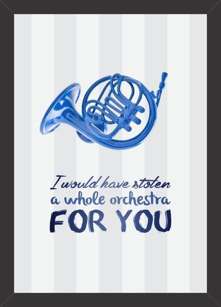 How I Met Your Mother - Trombeta Azul - Tcholos - A sua loja de quadros decorativos
