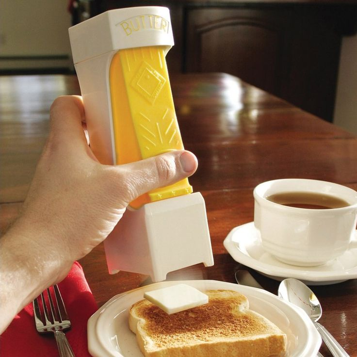 One-Click Butter Cutter. Awesome.
