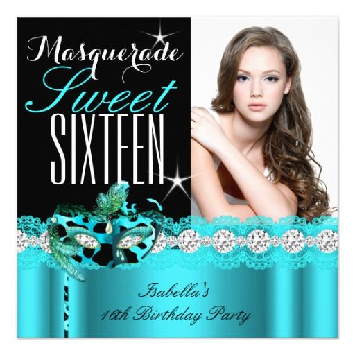 466 Best Elegant 16th Birthday Party Invitations Images On