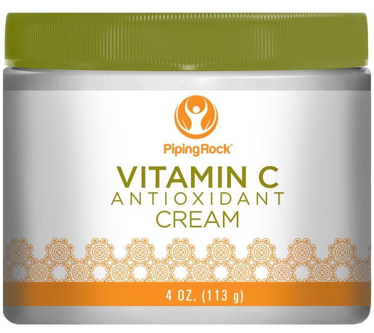 Buy Discounted Vitamin C AntiOxidant Renewal Cream 4 Cream Vitamins & Supplements online at PipingRock.com
