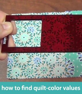 How to find quilt-color values