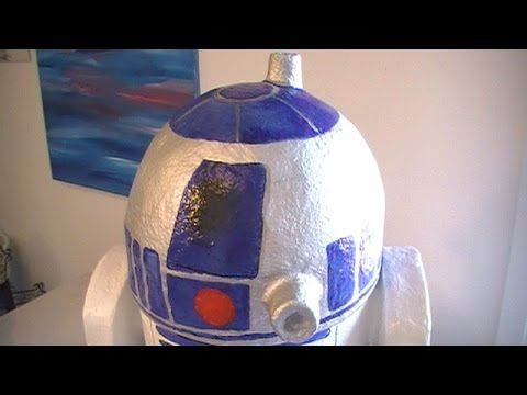1000 images about star wars decorations on pinterest for Cool paper mache