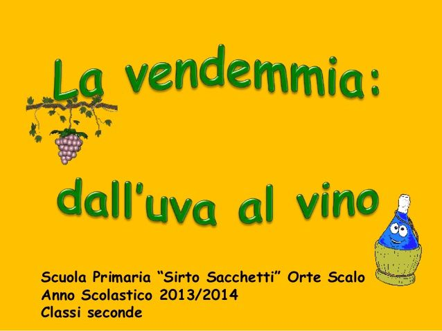Dall'uva al vino per sito scuola