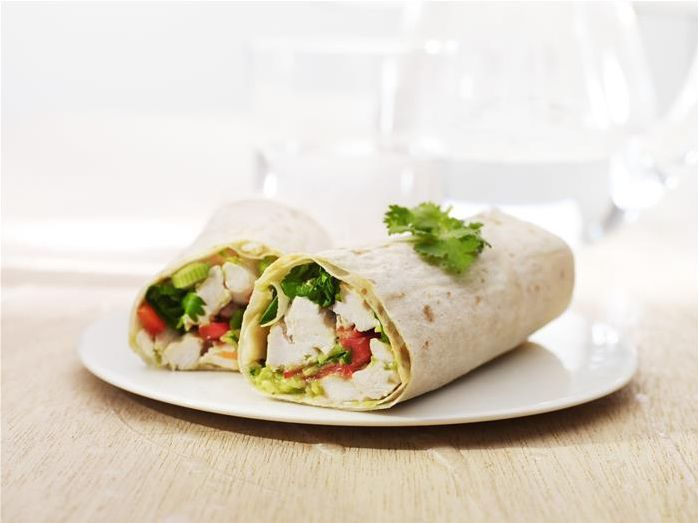 Excite your taste buds with this simple and delicious wrap.