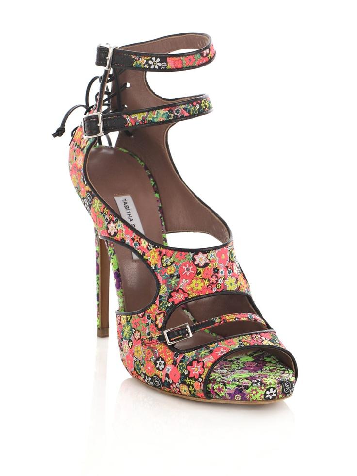 Tabitha Simmons, Bailey Flower Sandals.