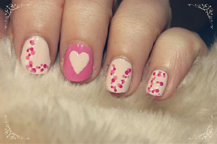 LOVE nail art by me :) Cassandra Berg #nailart #naildesign #nails #nailpolish #negler #negledesign #neglelakk