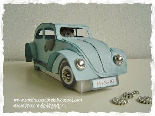Beetle Car template Sandra's Scrapshop