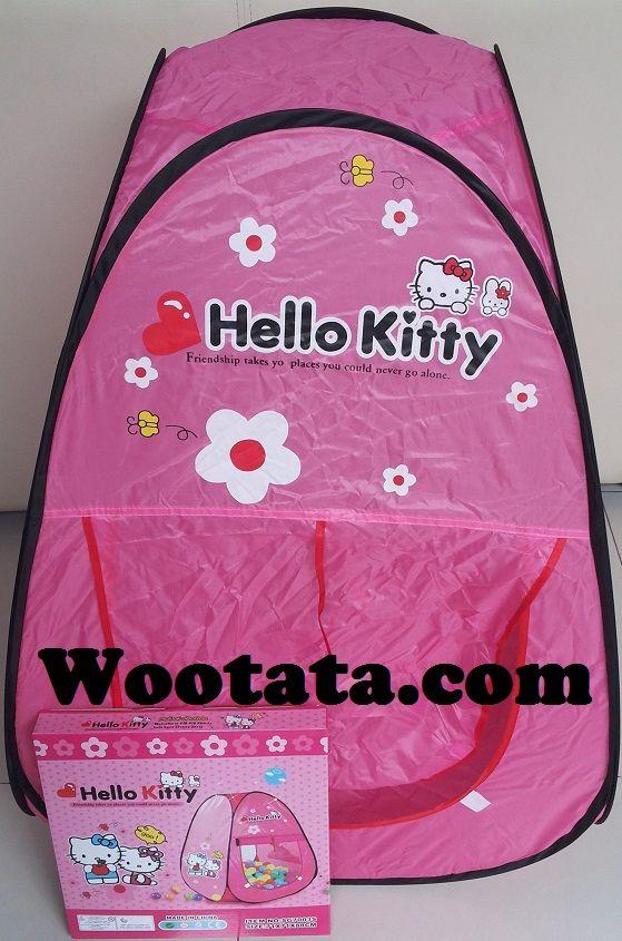 Jual Aneka Tenda Anak Lucu Bergambar Hello Kitty