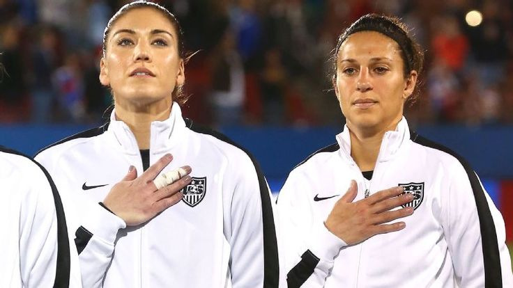 Members of the U.S. women's national soccer team have filed a wage-discrimination complaint against the U.S. Soccer Federation, saying they're paid almost four times less than the men. #EqualPay