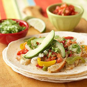 Mexican-Inspired Dinner Recipes: Chicken Recipe, Mexicans Inspiration Dinners, Tacos Potatoes, Chicken Fajitas, Quick Chicken, Dinners Recipe, Kids Friends Food, Healthy Recipe, Cooking Kids