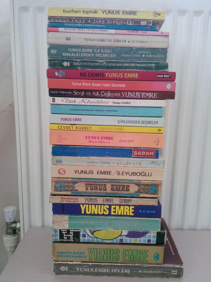 Yunus Emre Kitaplarım-2016