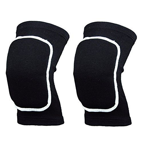 Top Youth/Ladies Padded Knee Compression Sleeve Support For Squats/Dance/Fitness/Gym Workouts/Weightlifting/Powerlifting--Both Female & Male Knee Joint Protective (Black, S) -- Be sure to check out this awesome product.