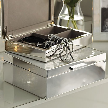 Mother Of Pearl Jewellery Box White