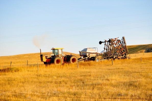 The Hutterites farming