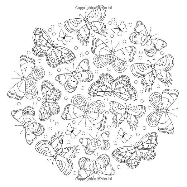 Colour Me Mindful Butterflies