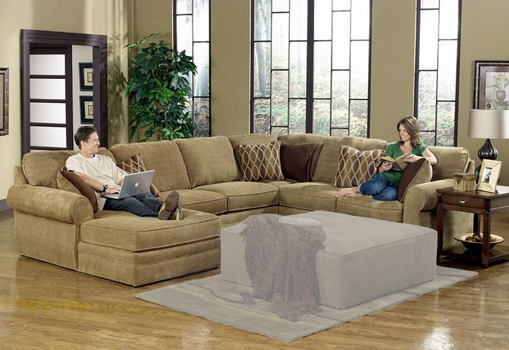 Extra Large Sectional Sofas - Large Sectional Sofas for Grand ...