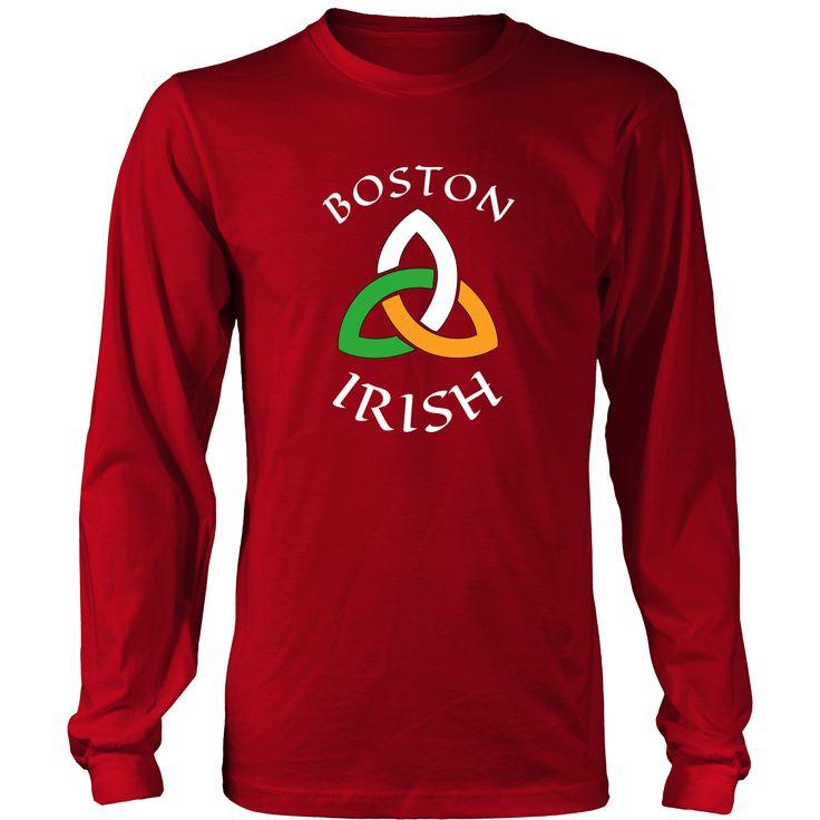 "Saint Patrick's Day - "" Boston Irish Parade "" - custom made funny apparel."
