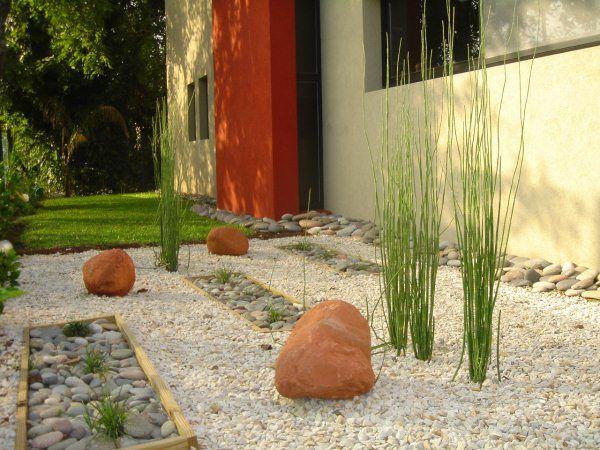 Armado de jardines secos ideas para - Losas de hormigon para jardines ...