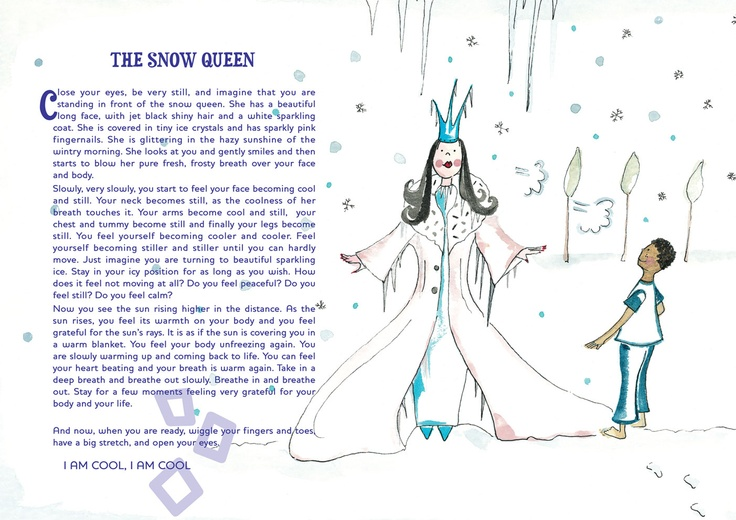 The Snow Queen guided relaxation story from the 12-12-12 freebies on Relax Kids