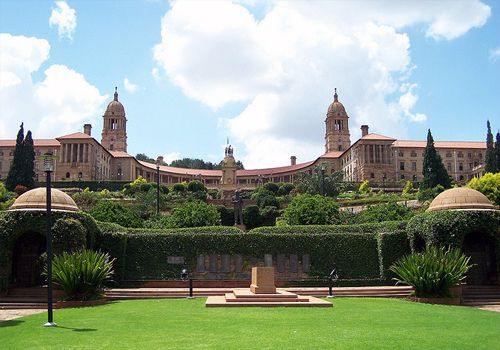 The Union Buildings in Pretoria, South Africa...