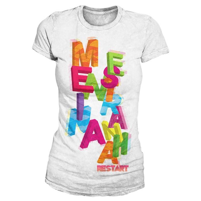 Camiseta Menina Estranha - Restart