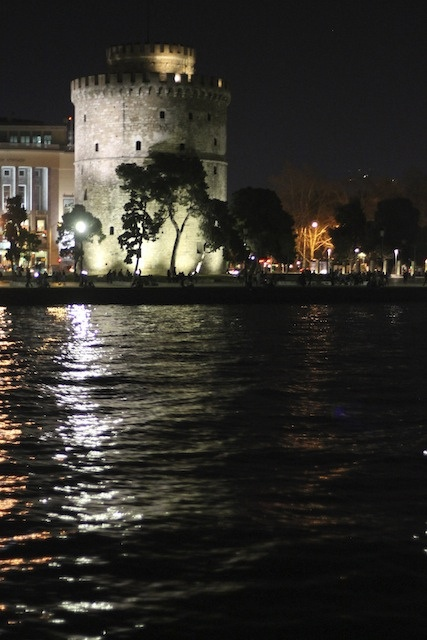 The White Tower of Thessaloniki, Greece