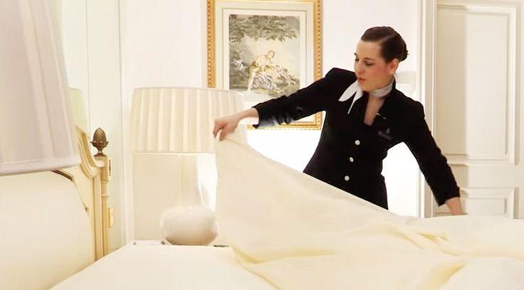 パリ一流ホテルの「ベッドメイキング」を動画で解説。あの心地よさを自宅でも! | TABI LABO