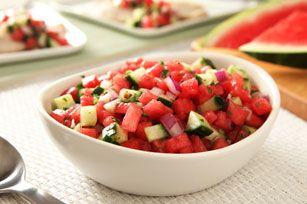 Fresh Watermelon Salsa Recipe - Kraft Recipes