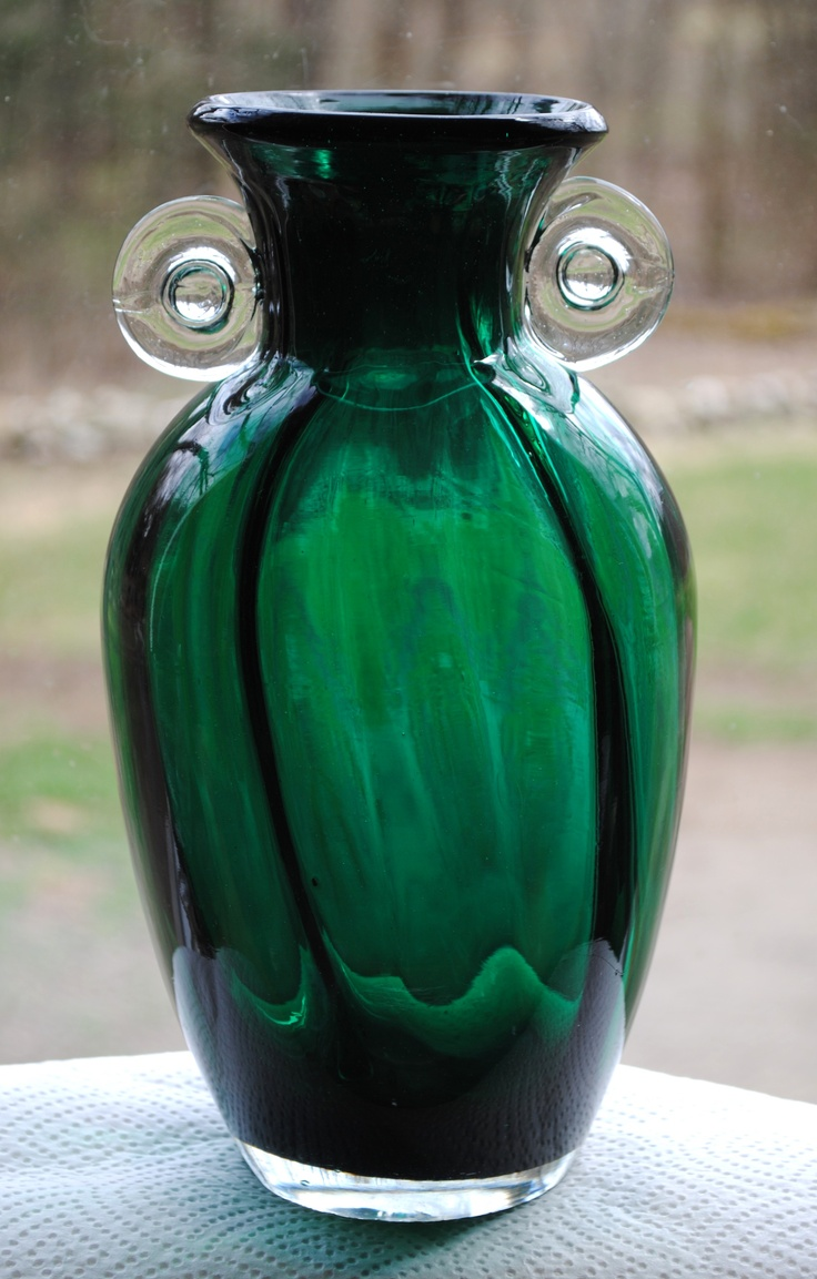 130 Best GREEN GLASS Images On Pinterest Emerald Green