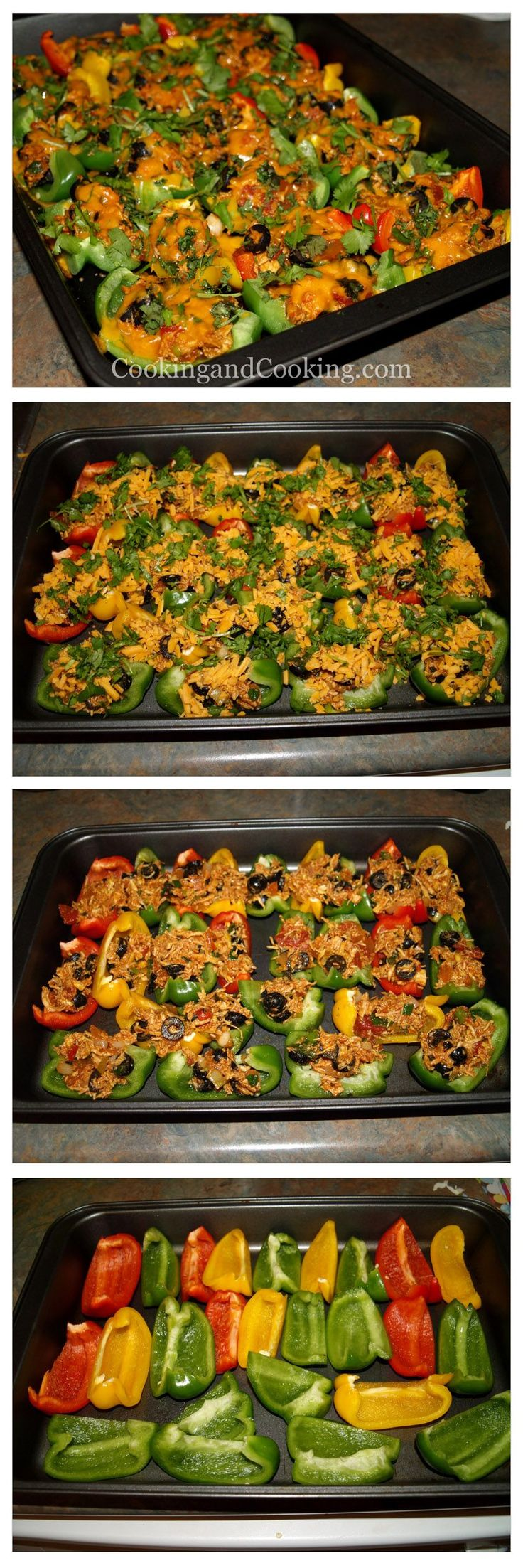 Bell Pepper Chicken Nachos Recipe